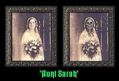 "Haunted Memories ""Aunt Sarah"" 5 X 7 Changing Portrait"