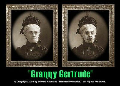 "Haunted Memories ""Granny Gertrude"" 5 X 7 Changing Portrait"