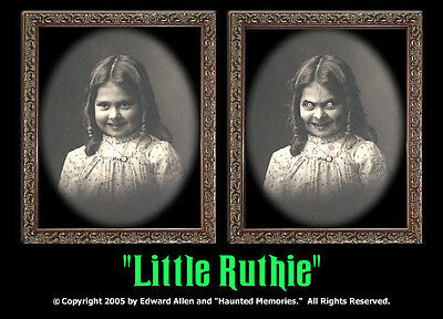 "Haunted Memories ""Little Ruthie"" 5 X 7 Changing Portrait"