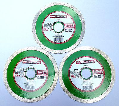 125mm diamond blade, disc for cutting granite,marble, other tiles 3BLADES PACK
