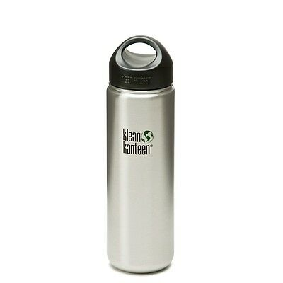 Klean Kanteen 27oz 800ml Wide Mouth Drink Bottle Stainless Steel