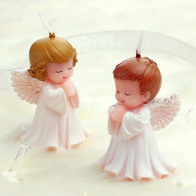Cute Children's Party Supplies Birthday Gift Smokeless Candles Angel Candle