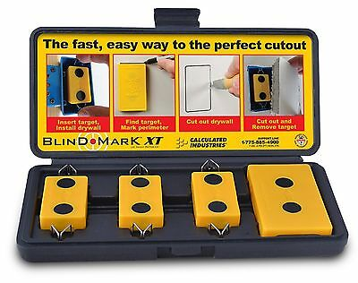 Calculated Industries 8105 Blind Mark Drywall Electrical Box Locator Tool