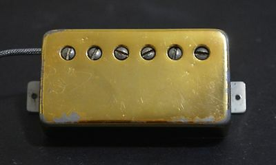 Vintage 1969 Gibson Patent Number Sticker Gold T-Top Pickup 1970 1971 1972