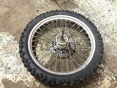 1993 93 Rm80 Rm 80 Front Wheel Hub Brake Tire Sprocket  Rim Might Fit Rm85 85