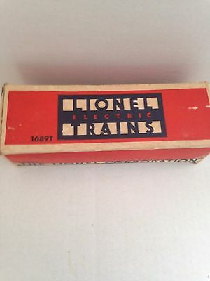 LIONEL PRE WAR ORIG BOX  For 1689T TENDER ALL FLAPS
