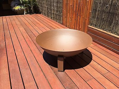 Dish EcoSmart Bioethanol outdoor Fire Pit  (Brand New Never Used)