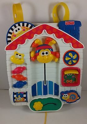 Fisher Price Musical Crib Activity Center Itsy Bitsy Spider Busy Box