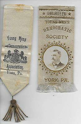 Pennsylvania  Democrat  Party  Ribbons---------York  County