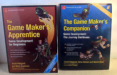 2 Books: The Game Maker's Apprentice & The Game Maker's Companion (4790)