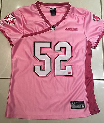 NEW Reebok Patrick Willis San Francisco 49ers Women's Large NFL Jersey