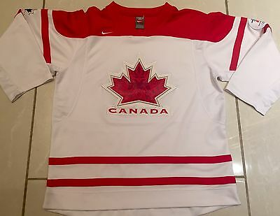 NEW NIKE Team Canada Youth L/XL Hockey Jersey