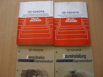 Additivo - Manuale officina Toyota Hilux / 4Runner 08.1991 +08.1992 RM264M RM316