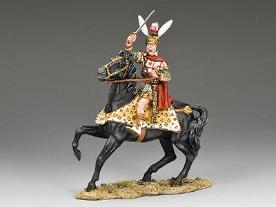 King & Country AG009 Collectable Alexander The Great Mounted - SIGNED Andy N