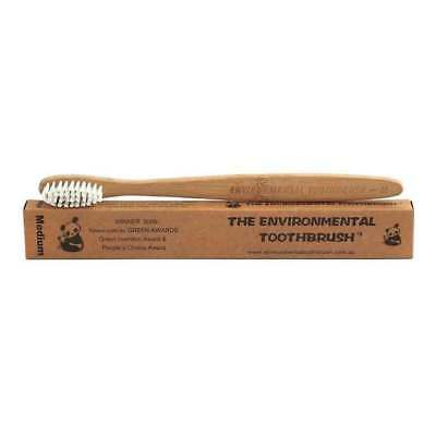 The Environmental Bamboo Toothbrush Medium Bristle  | BRAND NEW