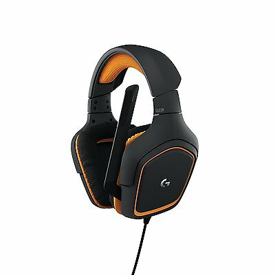 Logitech G231 Prodigy Stereo Gaming Headset w Microphone for Mobile & Console DF