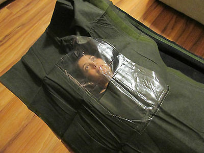 Chemical Warfare Protective Casualty, body, Bag, Army, Military, Halloween etc