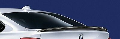 GENUINE BMW 4 SERIES GRAN COUPE M Performance CARBON BOOT SPOILER
