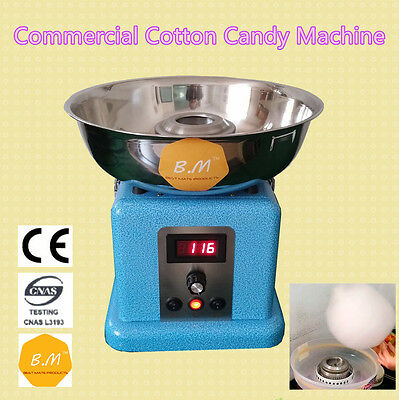 B.M CC-3901 Electric World's Smallest Commercial Cotton Candy Machine Cafeparty
