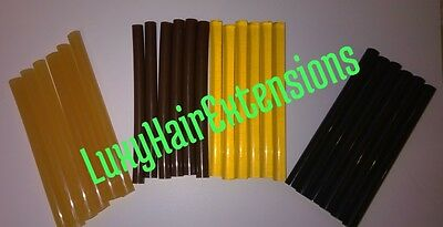 Professional Keratin Hot Melt Glue Sticks For Hair Extensions