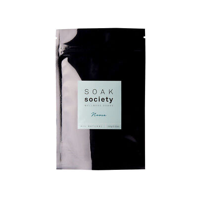 Soak Society Noosa Wellness Soak Travel Size  (100g) | BRAND NEW