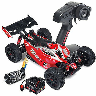 Arrma Typhon 6S 4WD BLX 1-8 Buggy RTR rot schwarz # AR106013 MODELL 2016