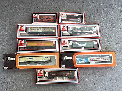 LIMA HO Gauge Container Goods Wagons