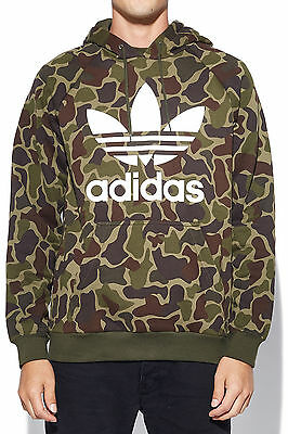 New ADIDAS Mens Camo Hoodie Camo Most Wanted