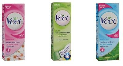 Veet Hair Removal Cream Normal/Dry/Sensitive skin For Under Arms shaver trimmer