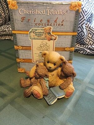 Cherished Teddies #661996 Caleb and Friends