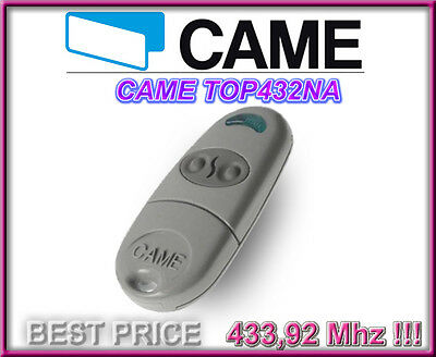 CAME TOP 432NA remote control, 433,92Mhz 2-channel key fob. SAME DAY DISPATCH!!!