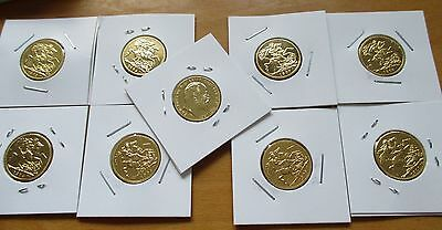 King George Sovereign Coin 999. 24k Pure Gold Plated Beautiful Coin