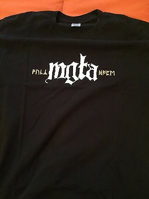 """Mgla """"Exercises In Futility"""" T-shirt size """"L"""""""
