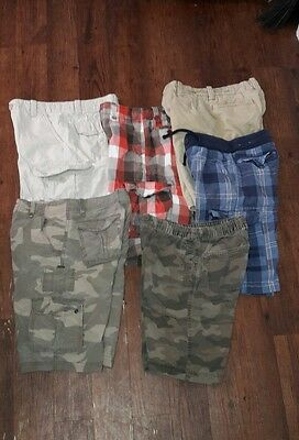 Boys Shorts Sz 12R Lot of 6 Pr URBAN PIPELINE FALLS CREEK ABERCROMBIE