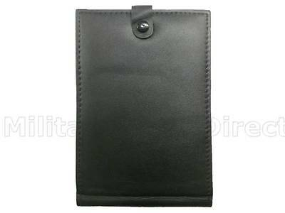 Leather Pocket Note Book Cover / Wallet Police Officers Constables PCSO Cadet
