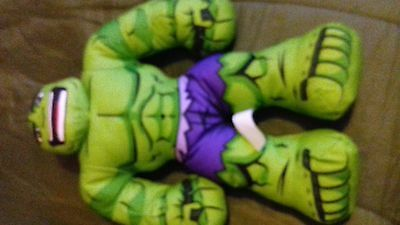 talking hulk soft toy 16 inch by marvel very good condition