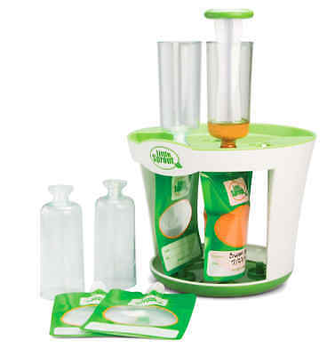 Baby Food Maker Squeeze Station Pack Disposable Pouches Free Shipping In USA New