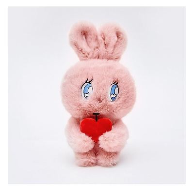 [Chuu] ESTHERLOVESYOU X Chuu Plush Doll Pink Cherry Rabbit Esther Bunny Doll