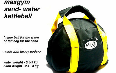 Max Gym Workout Fitness Weight Lifting Set Body Training Kettlebell 3- 8 KG