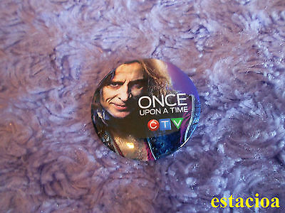 Once Upon a Time Promotional Button Robert Carlyle Rumpelstiltskin Fan Expo 2014
