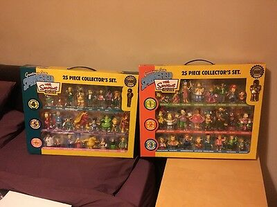 The Simpsons Limited Edition Figurine Collection - 25 Piece Collector's Set