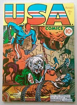Flashback #3 : Reprint of USA Comics #1 (1941) Dynapubs Very Fine Condition