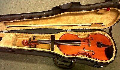 3/4 Size Zeller Violin outfit - Violin, bow and case
