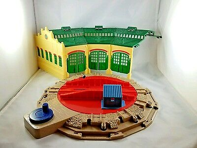 Thomas & Friends Trackmaster Tidmouth Sheds *INCOMPLETE* HIT Toys HTF