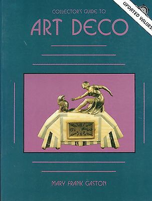 Art Deco Identification - Statues Pottery Metal Jewelry Values / Illustratd Book