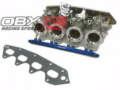 OBX ITB Individual Thorottle Body Fit For Honda B16 B18 Type R