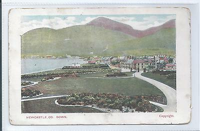 Postcard - Newcastle County Down Northern Ireland posted 1907