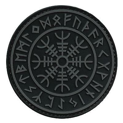 Aegishjalmr Viking Helm of Terror Awe PVC rubber ACU touch fastener patch