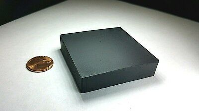 """One (1) Neodymium N52 Block Magnet Super Strong Rare Earth 2"""" x 2"""" With DEFECTS"""