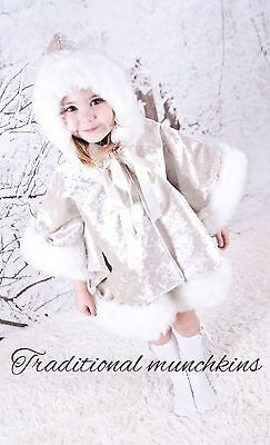 Cape Coat And Skirt, Outfit, Spanish , Romany, Baby , Girls
